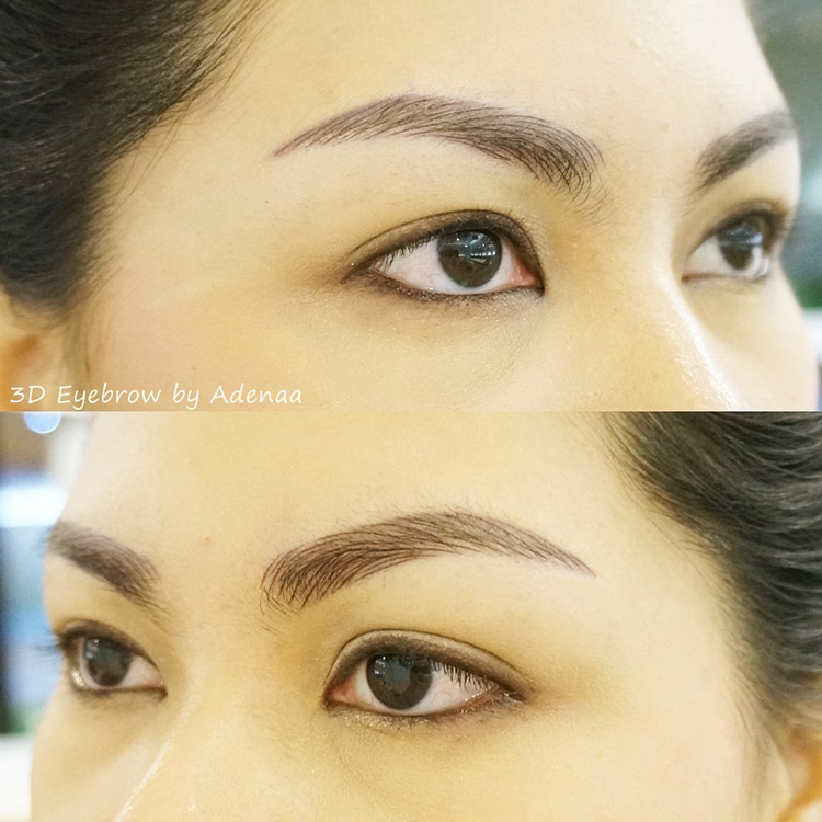 3D Eyebrows with Adenaa by Jannilicious