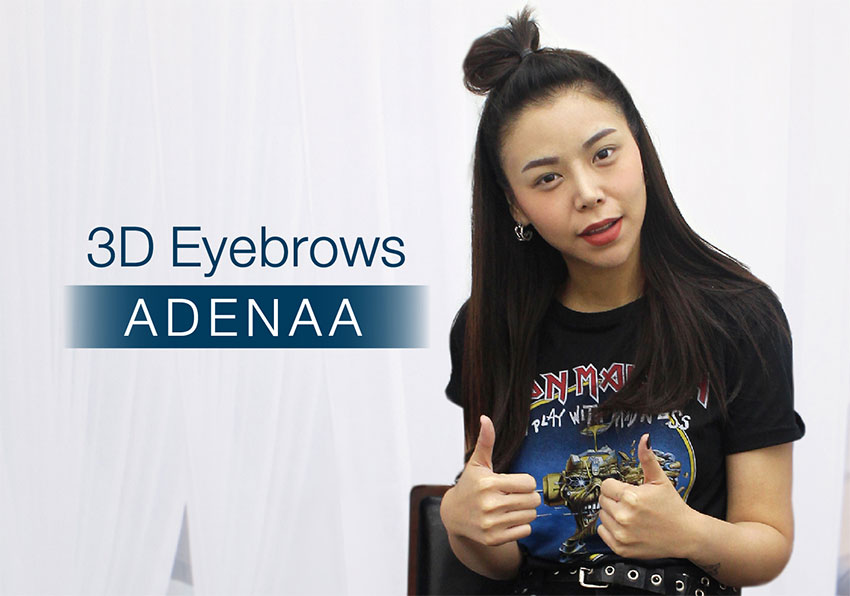 3D Eyebrows ADENAA